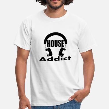 house addict - Men's T-Shirt