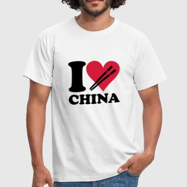 China China - I love China - Maglietta da uomo