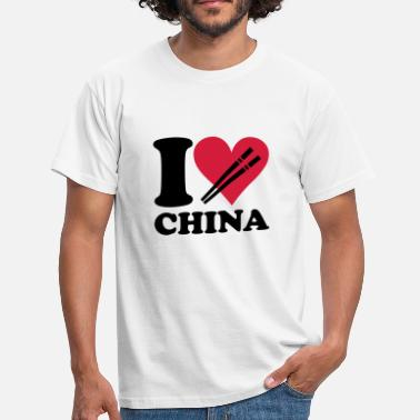 China China - I love China - Mannen T-shirt