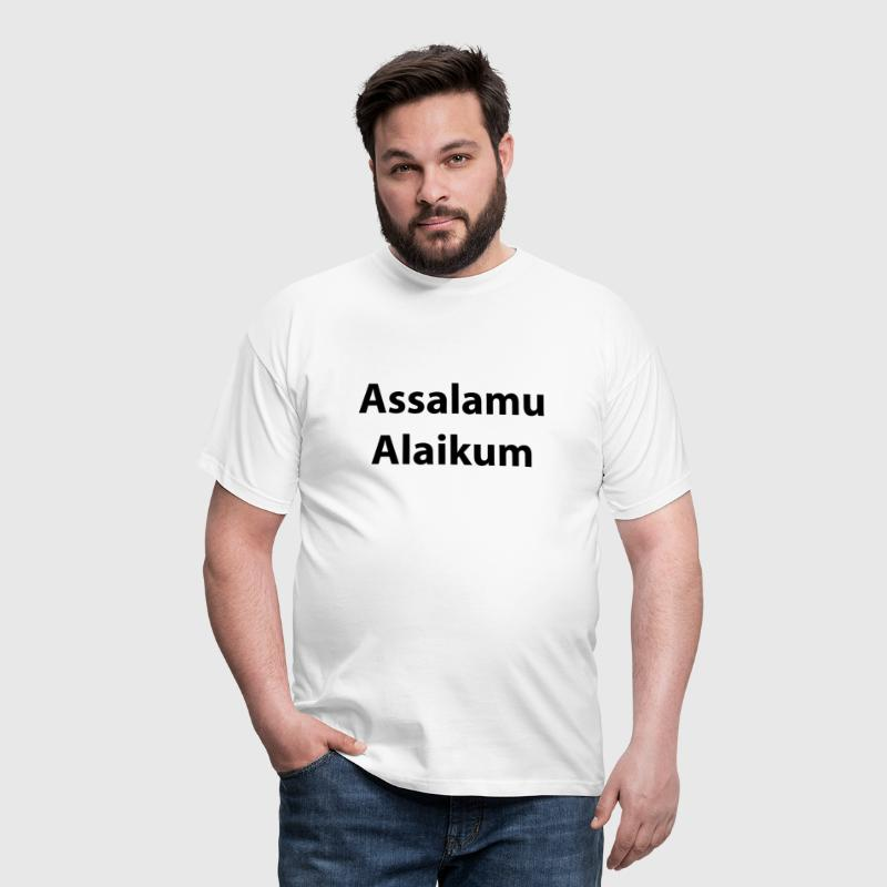Assalamu Alaikum - Men's T-Shirt