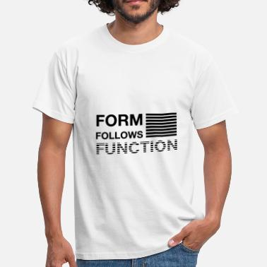 Sullivan Form follows Function - Men's T-Shirt