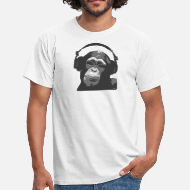Monkey DJ MONKEY by wam - Men's T-Shirt