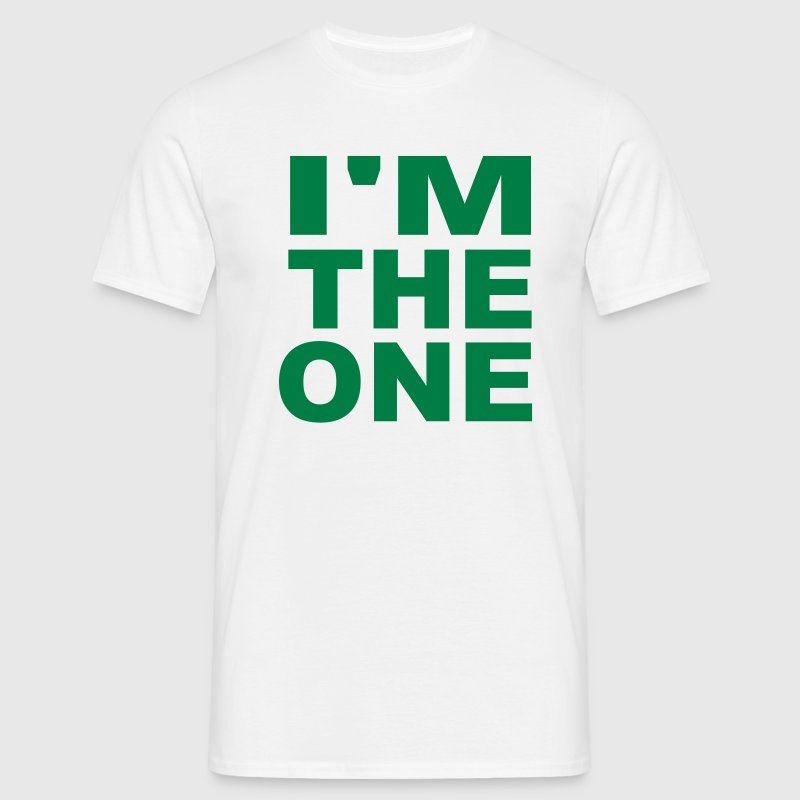 I'm the one - Men's T-Shirt