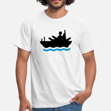 Battleship Battleship - Men's T-Shirt