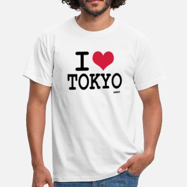 Tokyo i love Tokyo by wam - T-shirt Homme