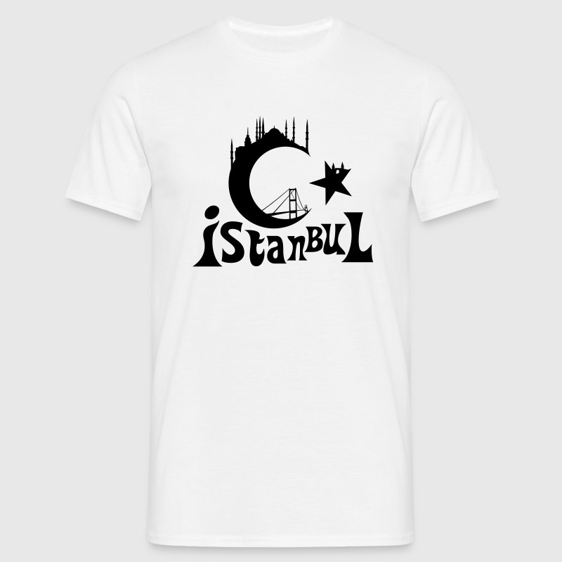 Istanbul, Turquie  - T-shirt Homme