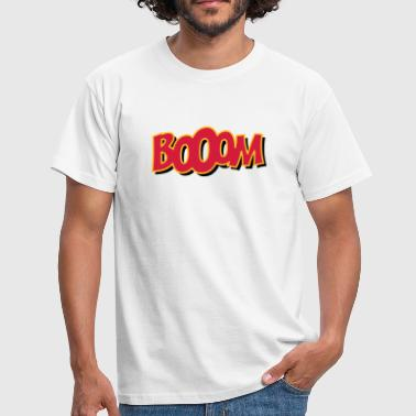 Motto booom - Herre-T-shirt