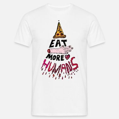 Tofu Eat more Humans - Men's T-Shirt