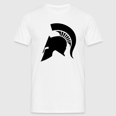 Spartan helmet - Men's T-Shirt