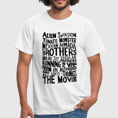 Movie Quote Rick_And_Morty - Mannen T-shirt
