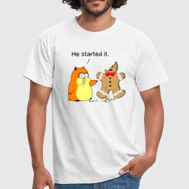 Hamster vs Gingerbread - Männer T-Shirt