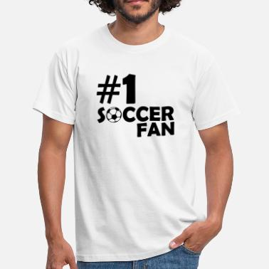 Soccer Fan #1 Soccer Fan - Men's T-Shirt