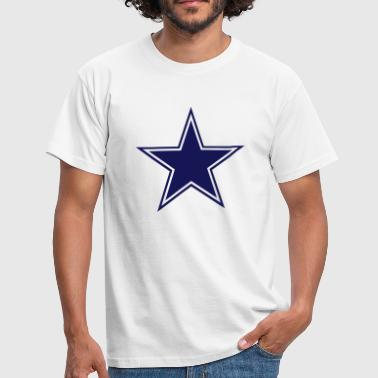 Dallas Cowboys (Star) - Männer T-Shirt