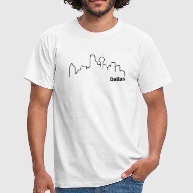 Dallas - Herre-T-shirt