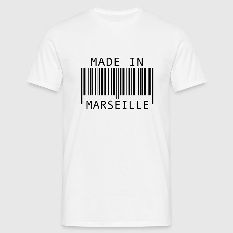 Made in Marseille Badges - T-shirt Homme