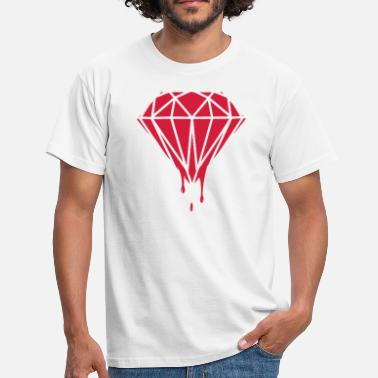 Diamond Supply Dripping Diamond - Men's T-Shirt