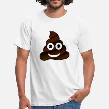 Shit Faced Shit shit heap smile face gift idea - Men's T-Shirt