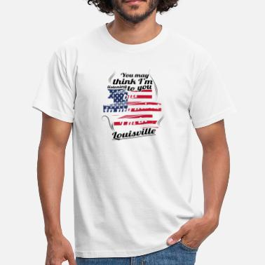 Louisville TERAPI HOLIDAY Resor Amerika USA Louisville - T-shirt herr