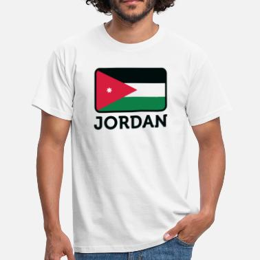Jordan Palestinian National flag of Jordan - Men's T-Shirt