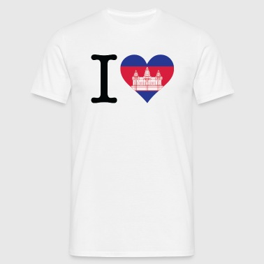 Je aime Cambodge - T-shirt Homme