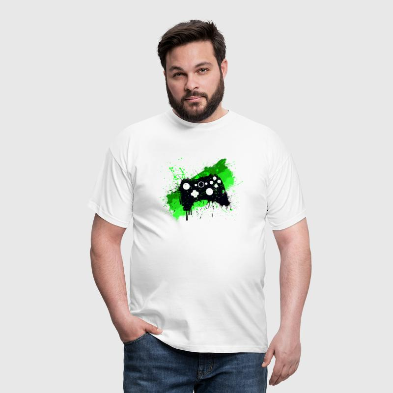 Box Graffiti Gamer - Men's T-Shirt
