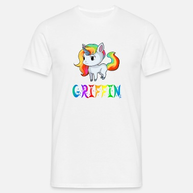 Griffin Griffin unicorn - Men's T-Shirt