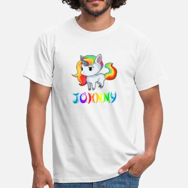 Johnny Unicorn Johnny - Men's T-Shirt