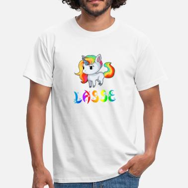 Lasse Unicorn Lasse - Men's T-Shirt