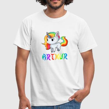 Unicorn Arthur - Men's T-Shirt