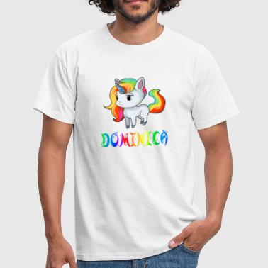 Dominica Unicorn Dominica - Herre-T-shirt