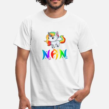 Nan Unicorn Nan - Men's T-Shirt