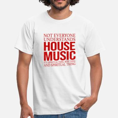 Diskothek House Music Musik Diskothek Techno Club Party - Männer T-Shirt
