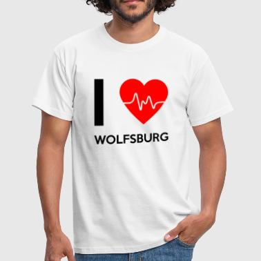 I Love Wolfsburg - I Love Wolfsburg - T-skjorte for menn