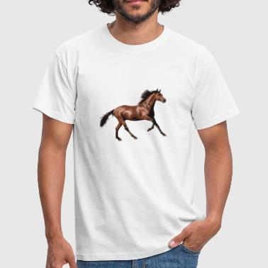 Horse love - Men's T-Shirt