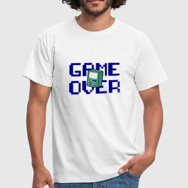 Game Over Retrogaming - Mannen T-shirt