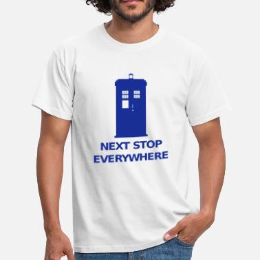 Who Next Stop Everywhere - T-shirt herr