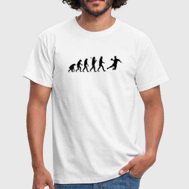 Evolution of Handball - Männer T-Shirt