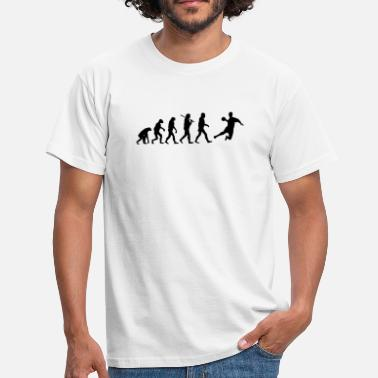 Handball Liga Evolution of Handball - Männer T-Shirt