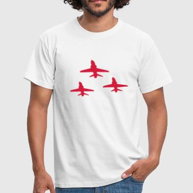 Red Arrows in Formation - Men's T-Shirt