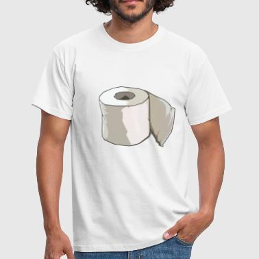 Farting Asshole klo_papier - Men's T-Shirt