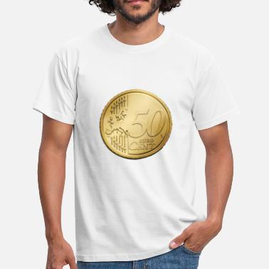 50 Cent 50 Euro cents - Men's T-Shirt