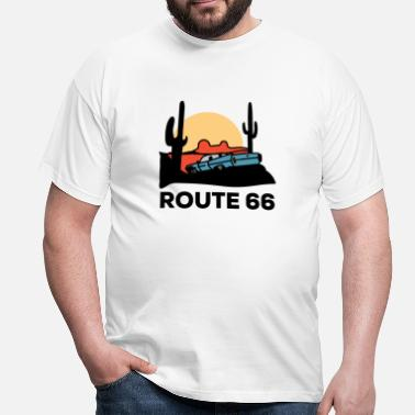 66 Route 66 - Men's T-Shirt