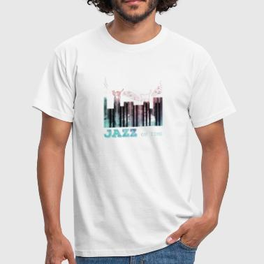 Jazz Piano Pianist Piano Player Gaveidee - Herre-T-shirt