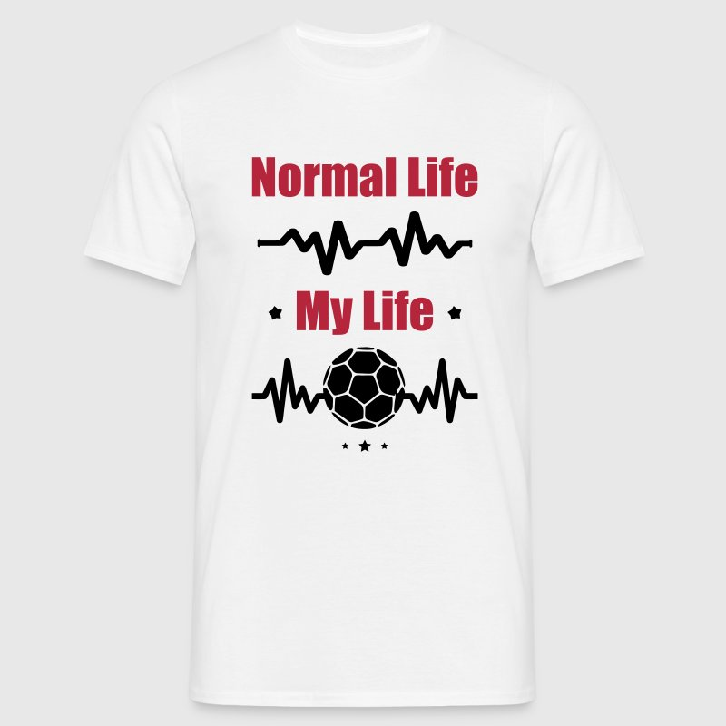 My Normal Life Handball - Men's T-Shirt
