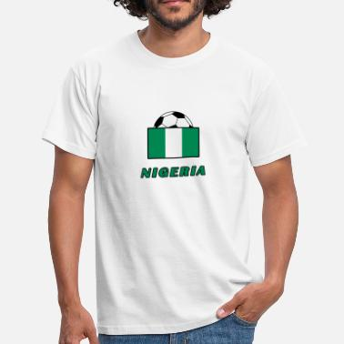 National Team NIGERIA national team design - Men's T-Shirt