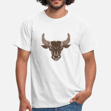 Bull Head bull head - Men's T-Shirt