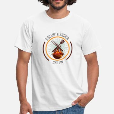 Saison Du Barbecue Saison barbecue barbecue - T-shirt Homme