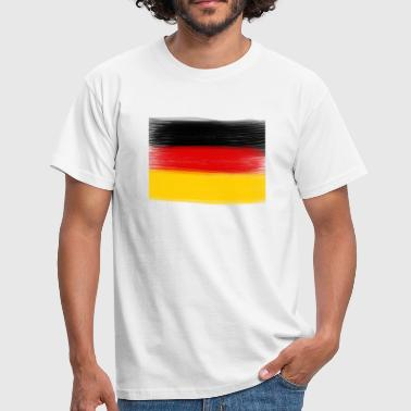 Duitse vlag | Black-Red-Gold - Mannen T-shirt