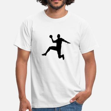 Free Throw handball - Men's T-Shirt