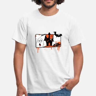 Comic-art Comic Art Happy Halloween - Männer T-Shirt